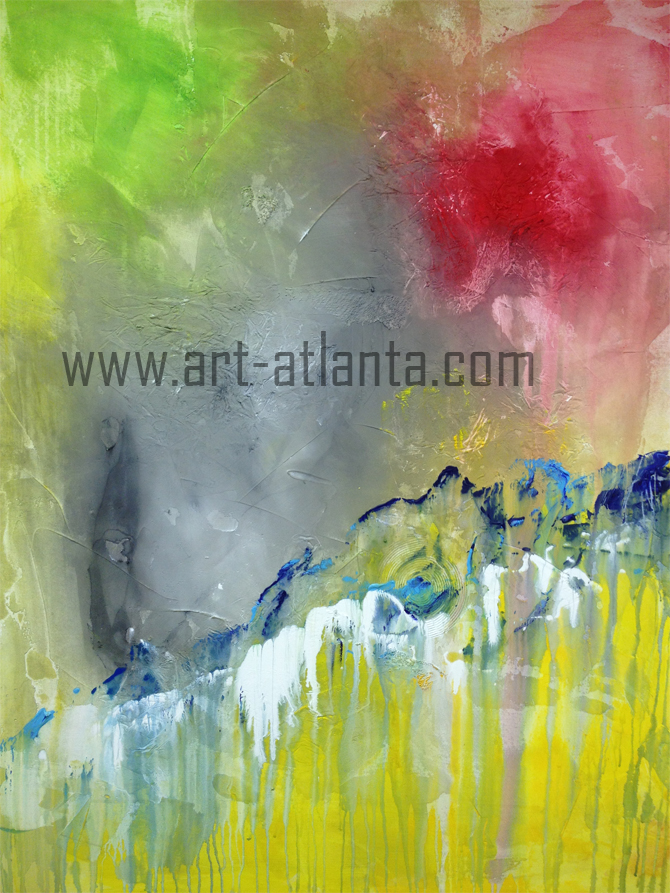 Abstract Art For Sale in Atlanta Georgia Romildo Santos JR