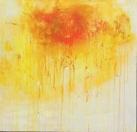 Sungasm II - $1500 - 48 x 48 - Mixed Media