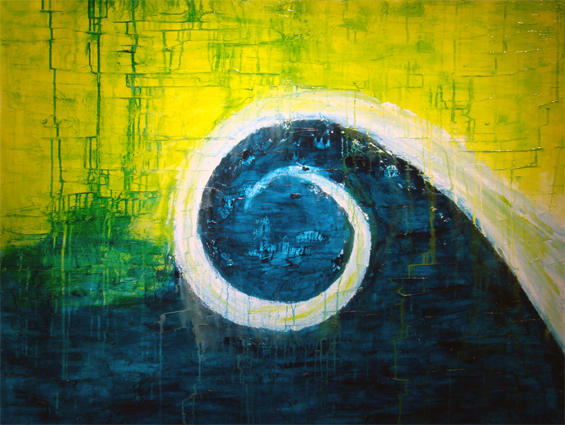 Art for sale tsunami by romildo santos artist in atlanta for Painting for sale by artist